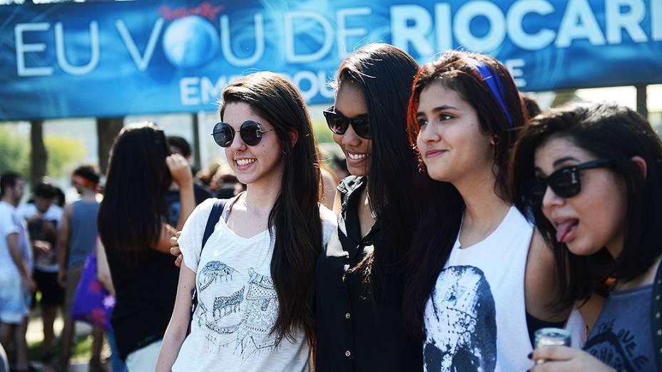 Público no segundo dia do Rock in Rio 2013