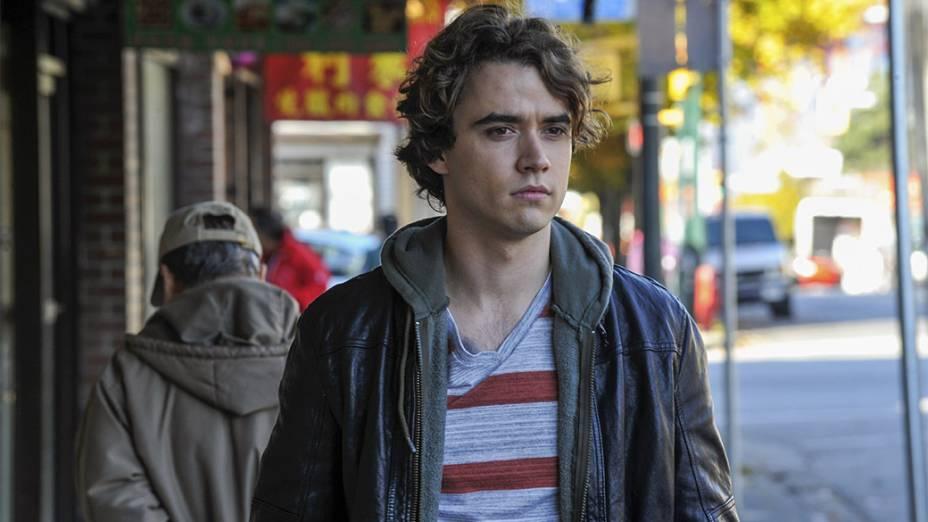 O ator Jamie Blackley em cena do filme Se Eu Ficar