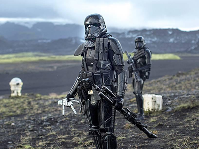 Cena do filme Star Wars: Rogue One