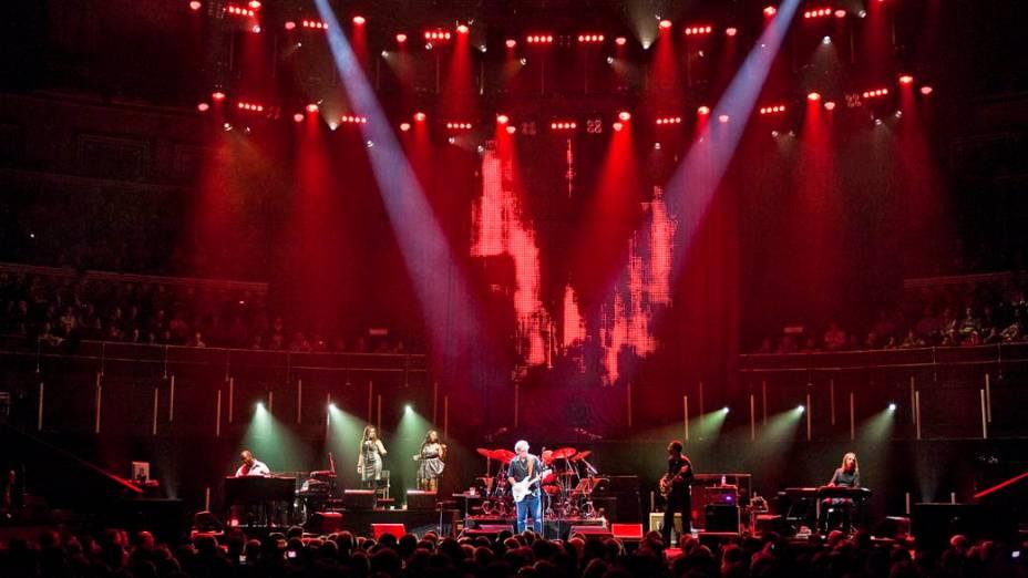 Show de Eric Clapton realizado no Royal Albert Hall em Londres