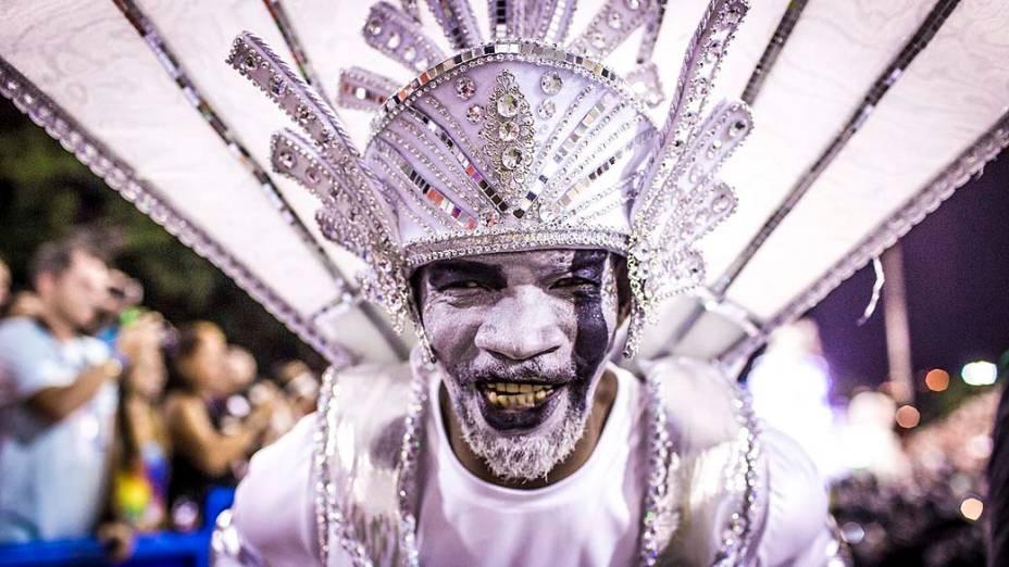 Grande Rio durante Desfiles das Escolas de Sambas do Grupo Especial do Carnaval do Rio de Janeiro 2014