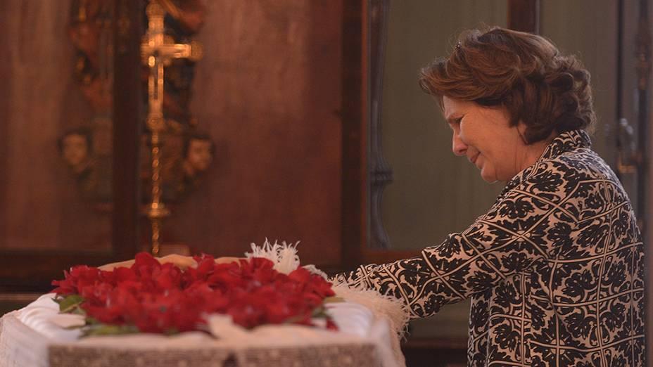 Berenice Batella, viúva do escritor João Ubaldo Ribeiro