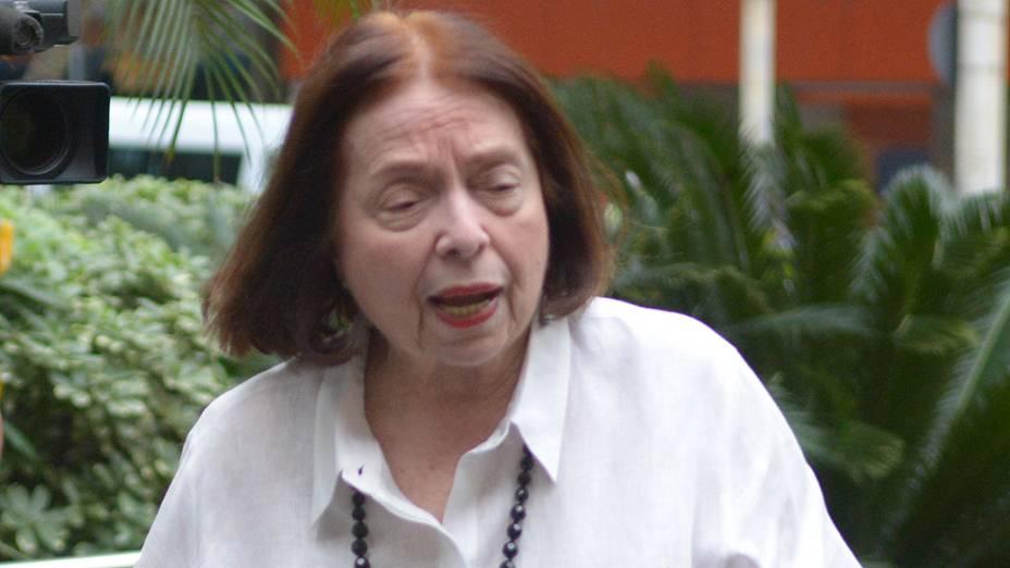 Escritora e imortal da Academia Brasileira de Letras, Nélida Piñon