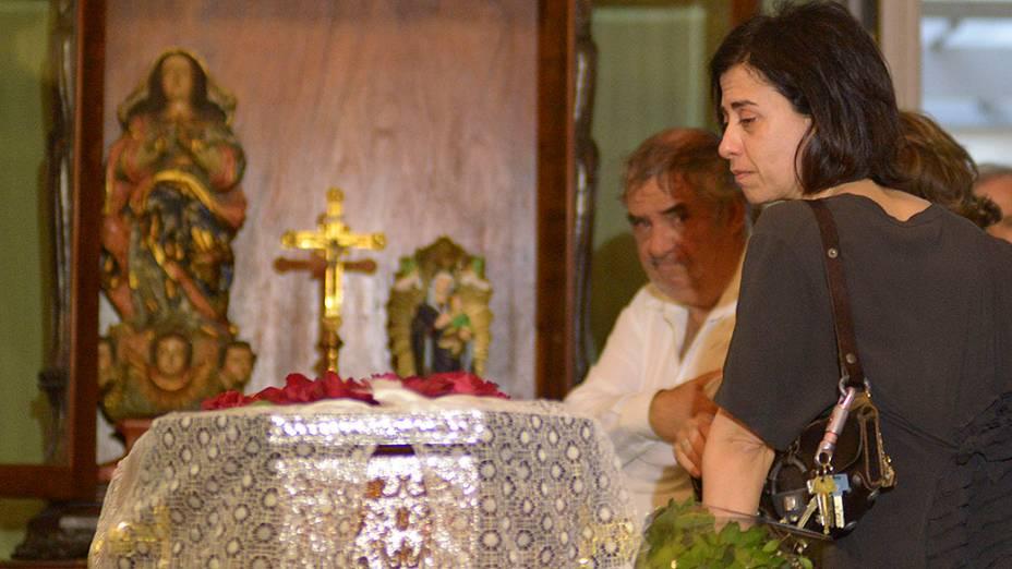 A atriz Fernanda Torres