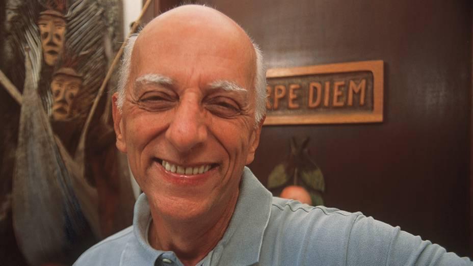 Rubem Alves, escritor e professor da Universidade Estadual de Campinas