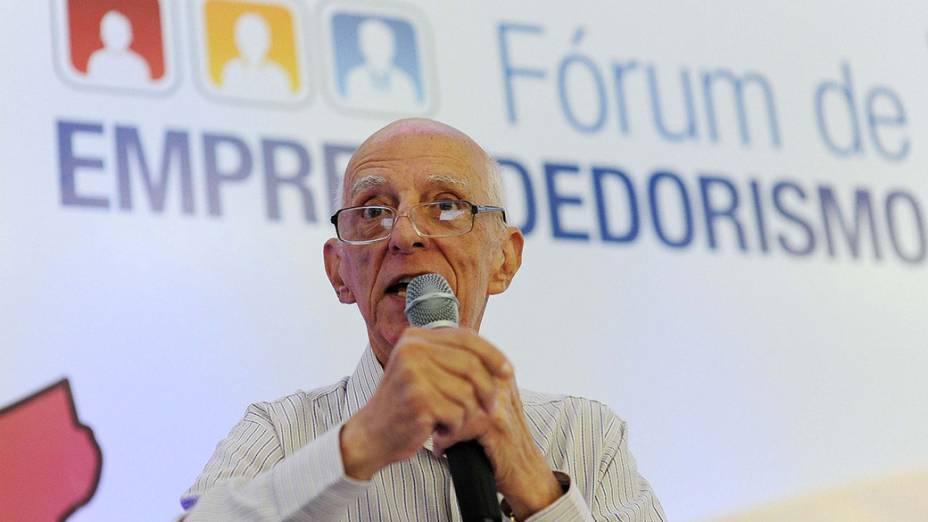 O escritor e professor Rubem Alves, duranteFórum de Empreendedorismo, em São José dos Campos, São Paulo, em22/11/2011<br><br><br><br>