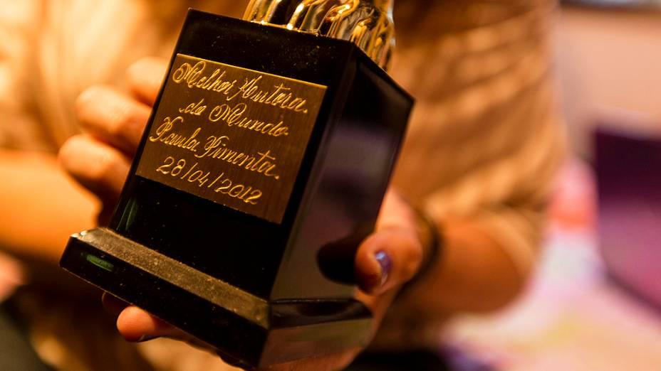 Troféu de Melhor Escritora do Mundo dado por leitoras