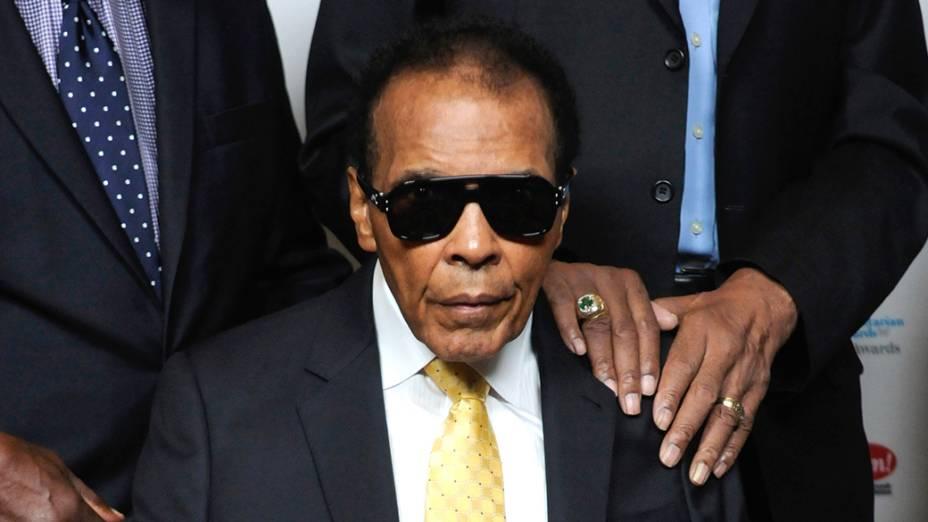 Muhammad Ali em setembro de 2014