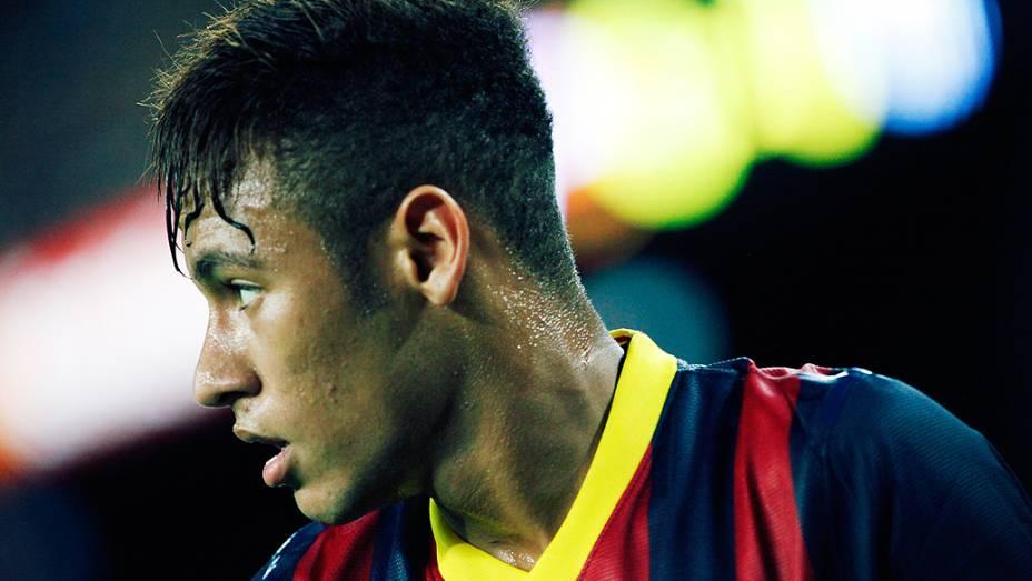Neymar procurou o jogo...