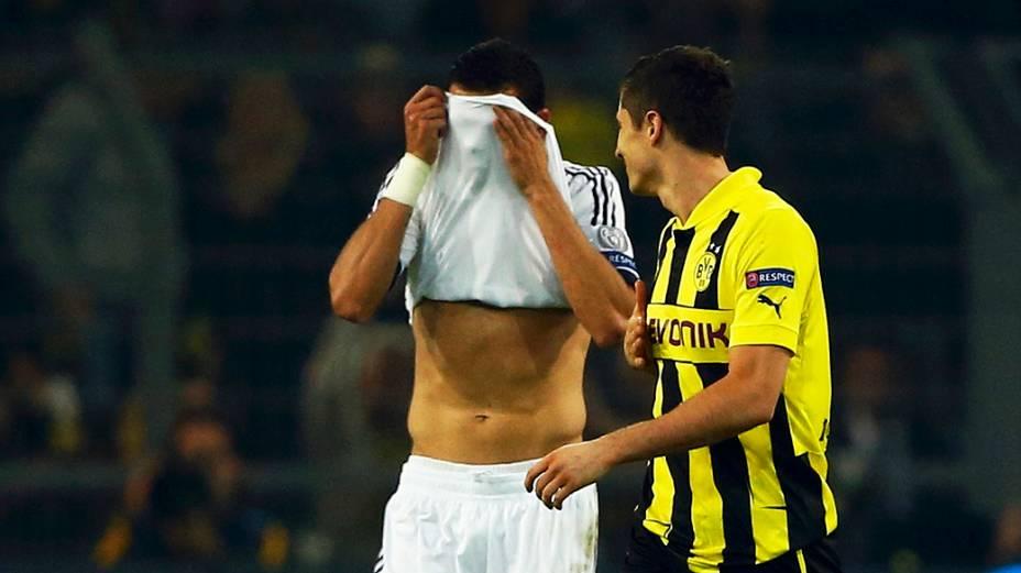 Pepe, do Real, lamenta gol de Lewandowski