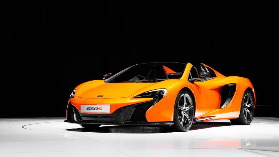 O esportivo McLaren 650s estreia no mercado americano