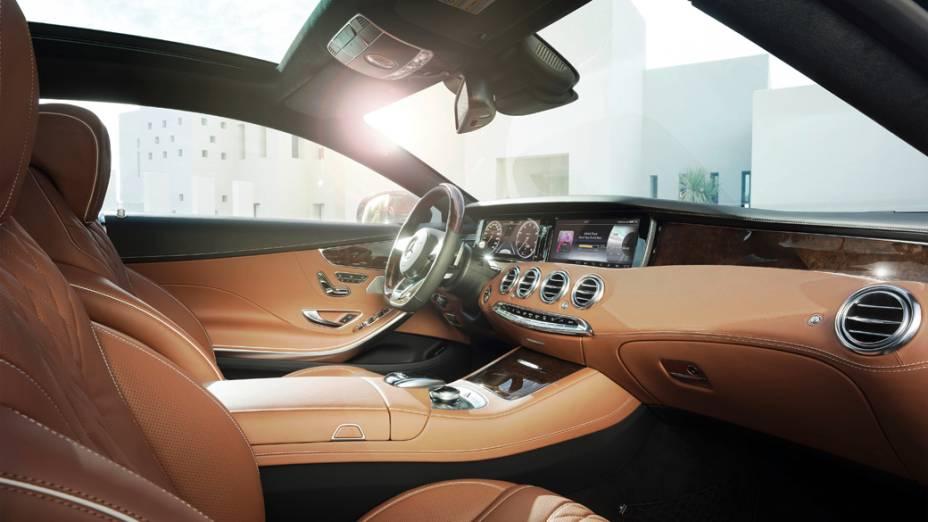 O novo Mercedes Classe S Coupé