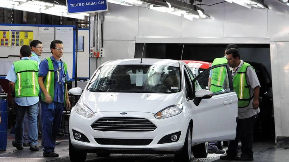 Fábrica da Ford em São Bernardo do Campo, (SP)