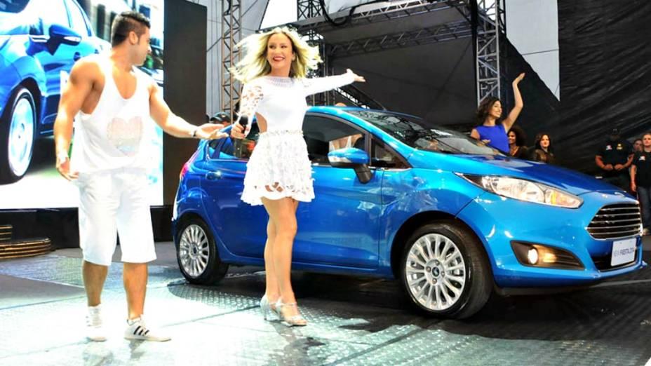 Lançamento do New Fiesta com a participação da cantora Claudia Leitte