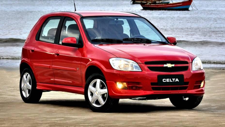 5 - Chevrolet Celta: 137.617 unidades vendidas
