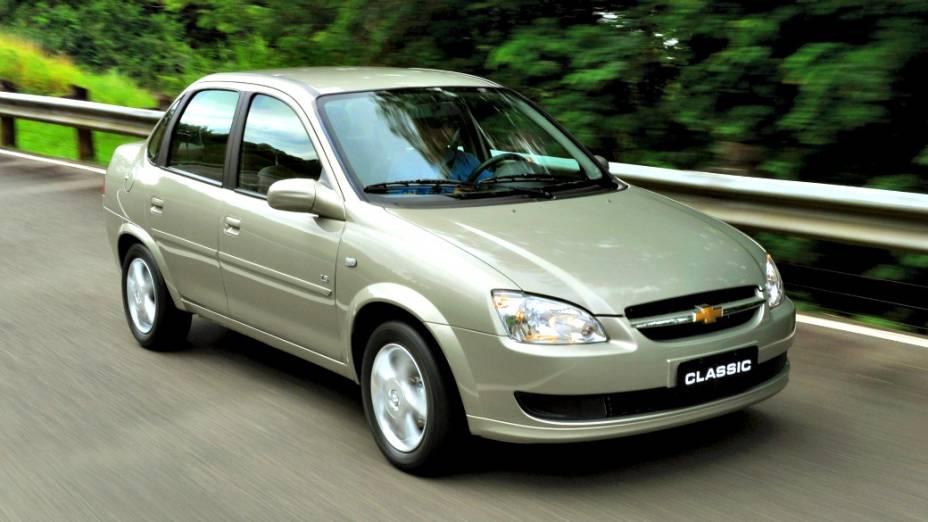 9 - Chevrolet Corsa: 98.551 unidades vendidas