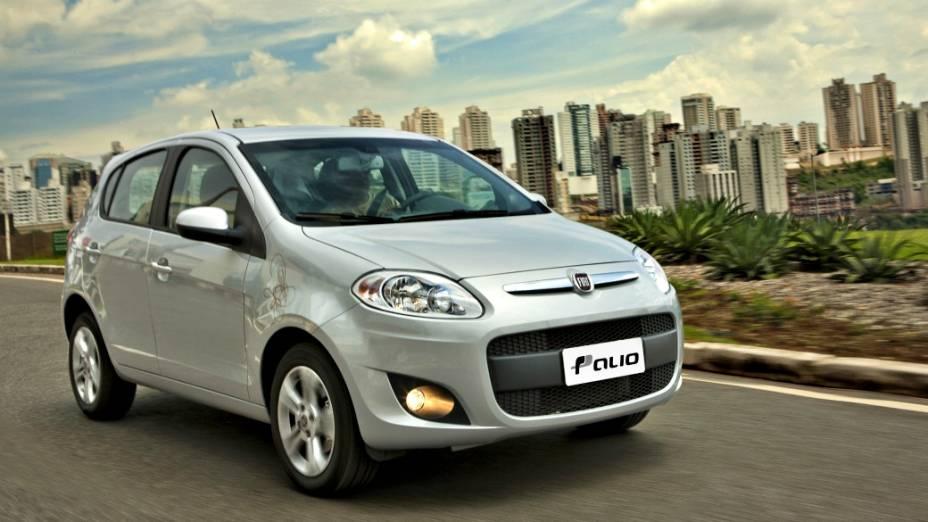 3 - Fiat Palio: 186.384 unidades vendidas