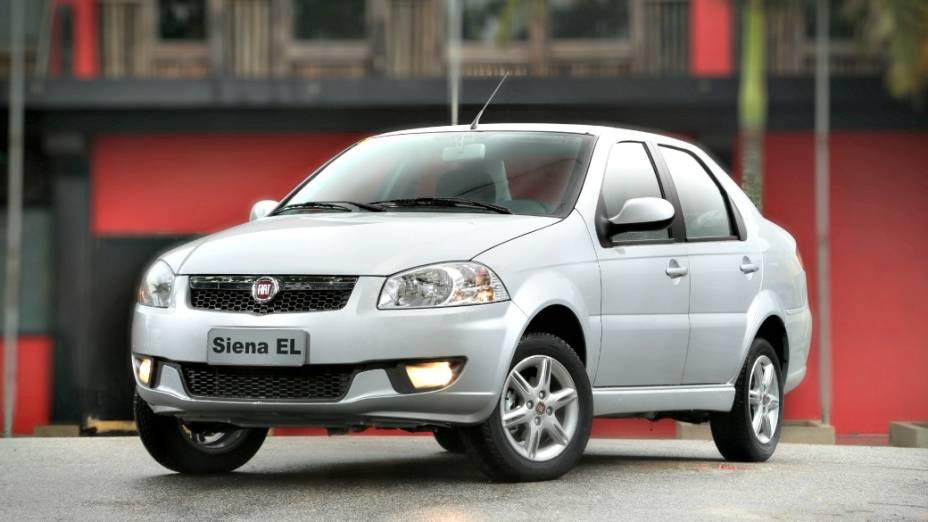 8 - Fiat Siena: 103.547 unidades vendidas