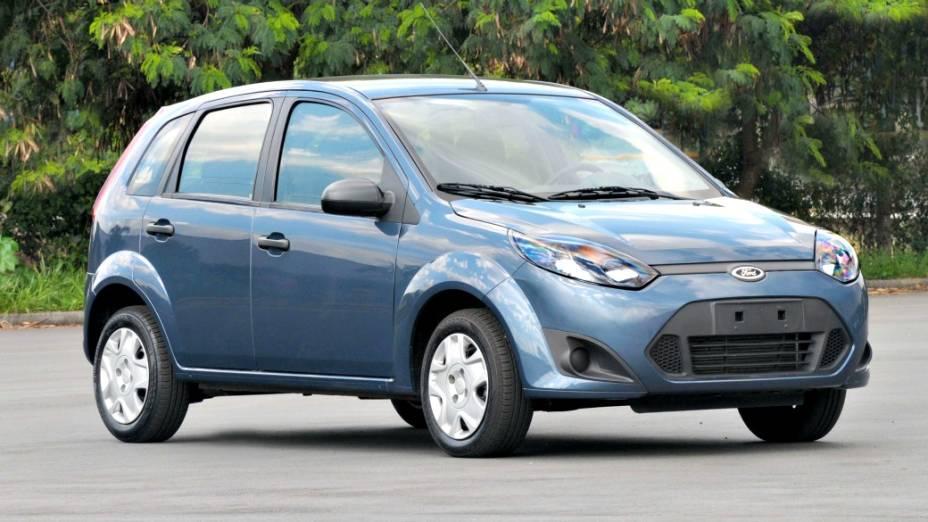 7 - Ford Fiesta Hatch: com 113.546 unidades vendidas