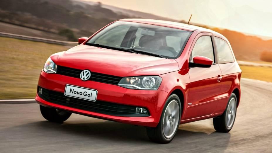 1 - Volkswagen Gol: 293.293 unidades vendidas