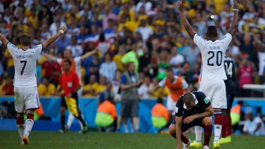 Alemanha vence a França no Maracanã e avança para as semifinais da Copa