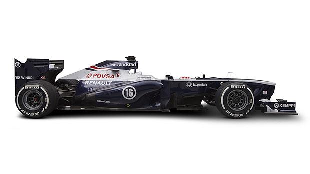 FW35, novo carro da Williams para a temporada 2013