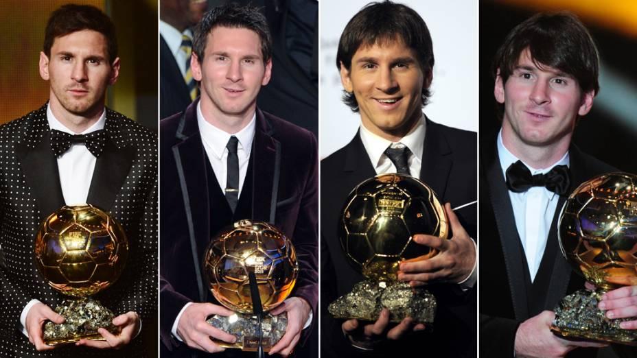 Títulos consecutivos da Bola de Ouro Fifa de Lionel Messi