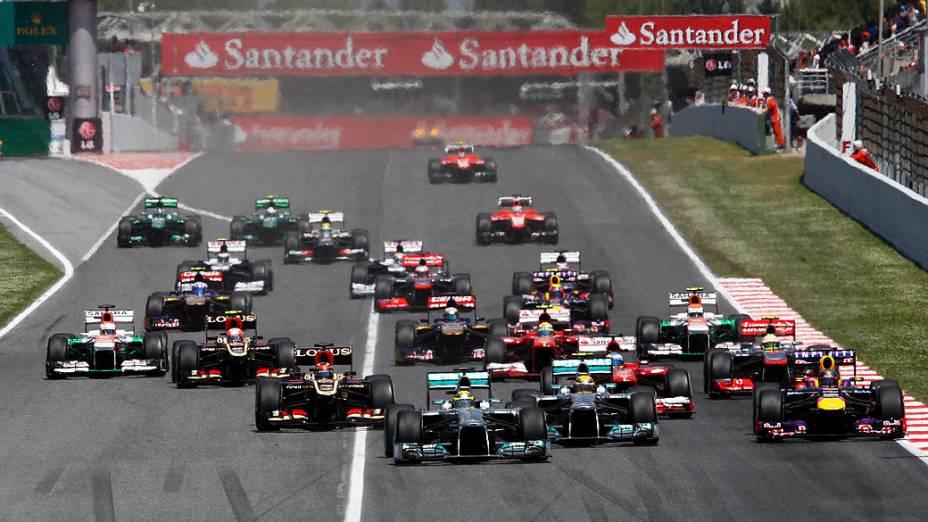 GP da Espanha no circuito da Catalunha, em Montmeló