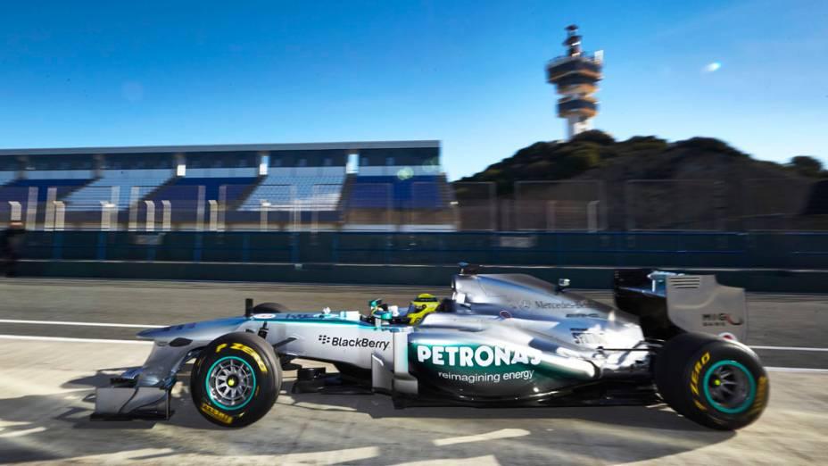 Novo Mercedes F1 W04