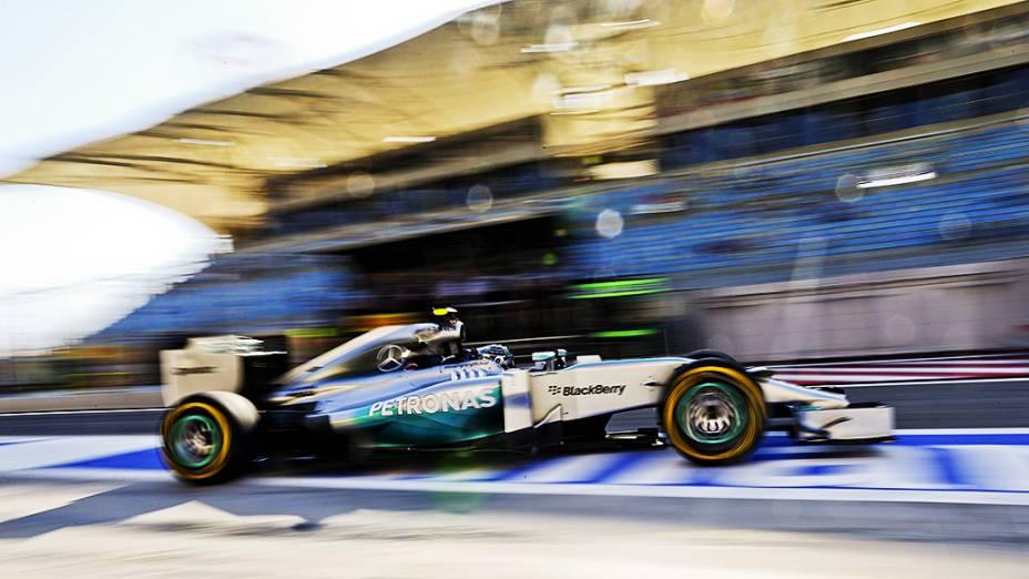 Nico Rosberg: pole position no GP do Barein