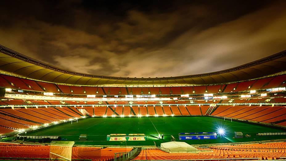 Vista do Estádio Soccer City, em Johannesburgo, um dos elefantes brancos resultado da última Copa do Mundo realizada no país