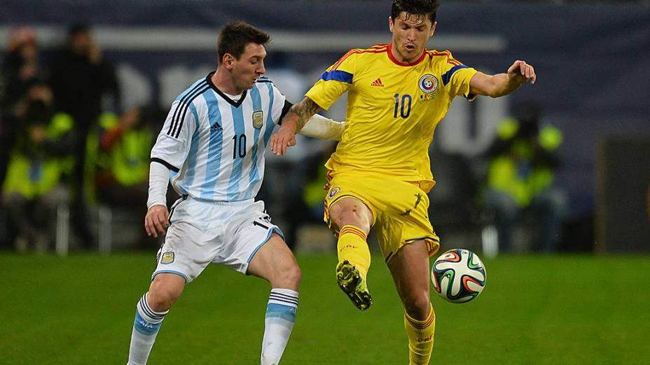 A Argentina ficou no empate sem gols com a Romênia em amistoso disputado em Bucareste