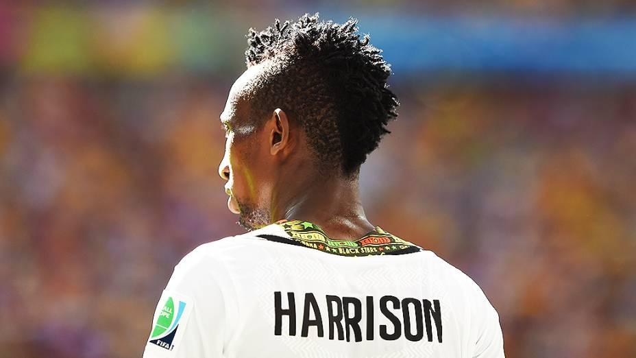 Harrison Afful, zagueiro de Gana