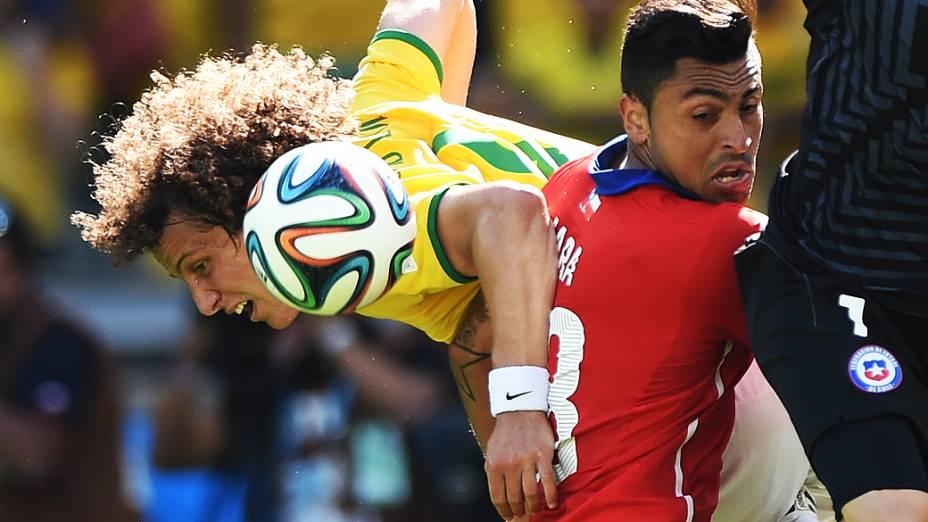 David Luiz, zagueiro da seleção brasileira
