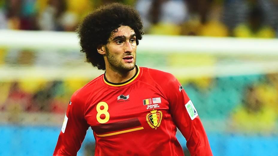 Marouane Fellaini, meia da seleção da Bélgica