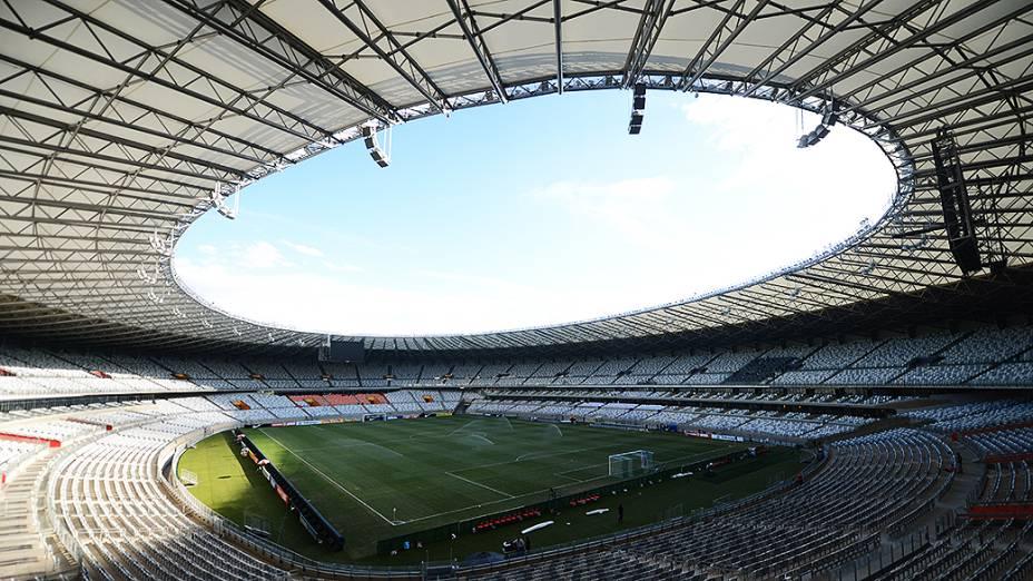 Estádio do Mineirão, em Belo Horizonte