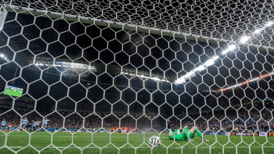 Argentina se classifica nos pênaltis sobre a Holanda no Itaquerão, em São Paulo