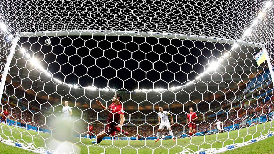 Estados Unidos empatam em 1 x 1 partida contra Portugal, na arena Amazônia, em Manaus