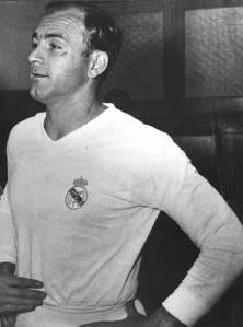 Alfredo Di Stéfano no Real Madrid em 1956