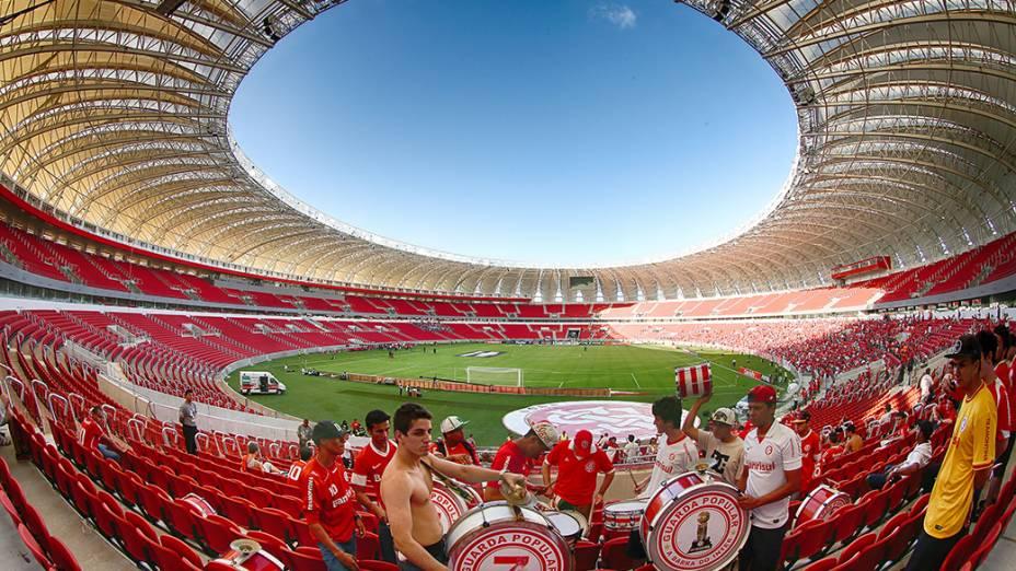 Vista do novo Beira Rio após as reformas para a Copa do Mundo