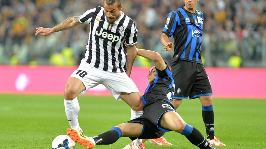 Juventus venceu a Atalanta por 1 a 0