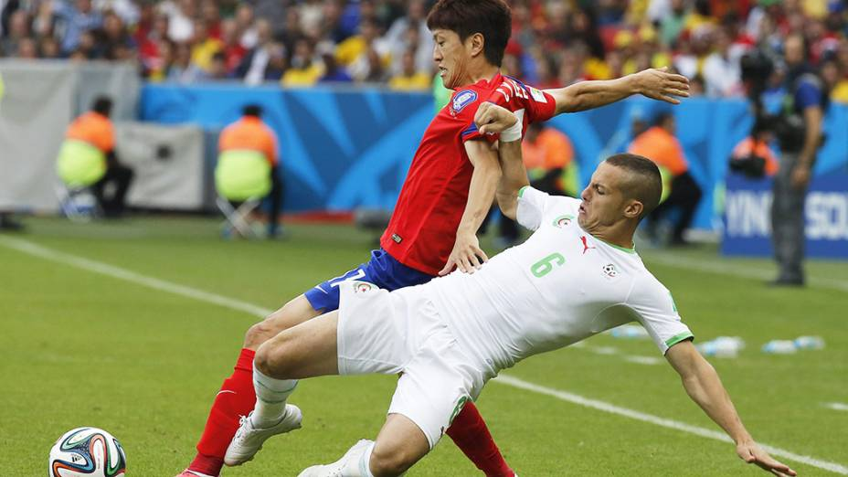 Coreia do Sul e Argélia se enfrentam no Beira Rio, em Porto Alegre