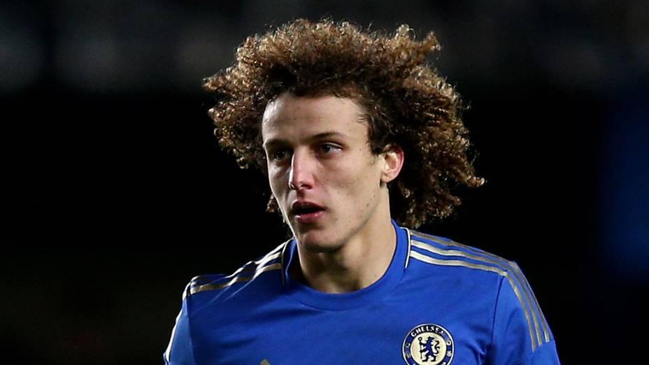 David Luiz jogador do Chelsea