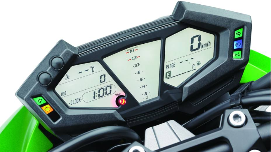 Kawasaki Z800 painel