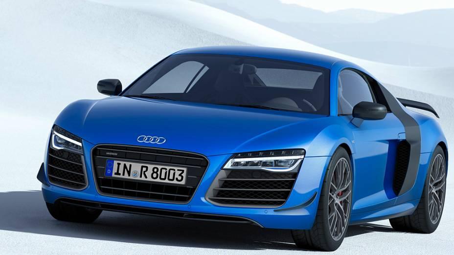 Audi R8 LMX: edição limitada tem farol a laser