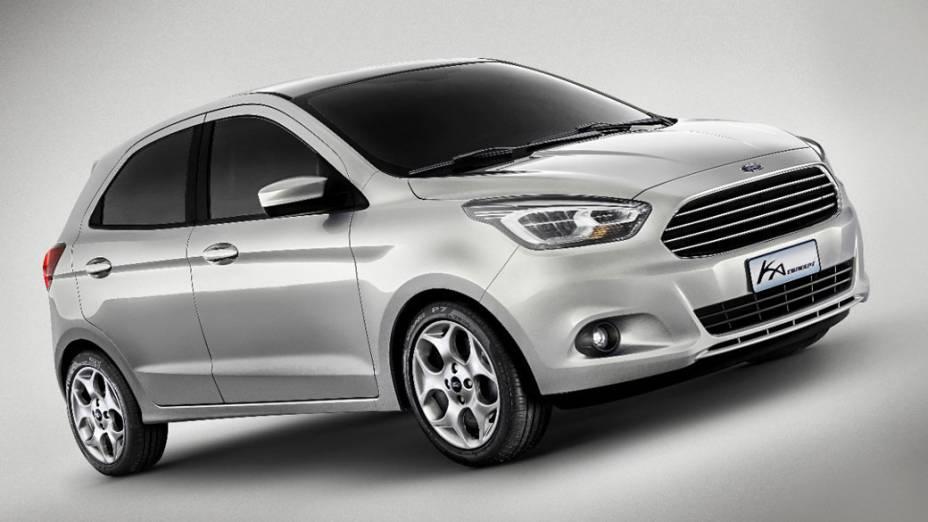 Ford mostra o Ka Concept, que pode chegar ao mercado em 2014