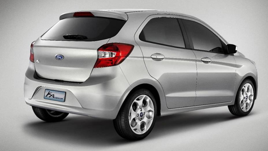 O Ka Concept, que pode chegar ao mercado no primeiro semestre de 2014