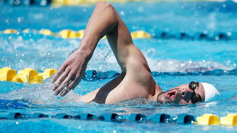 Phelps garantiu sua vaga na final dos 100m borboleta