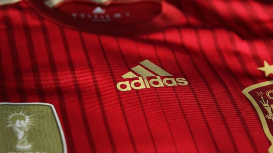 Nova camisa da Espanha para a Copa do Mundo 2014