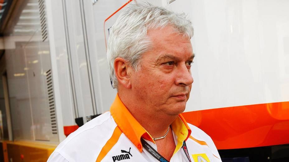 Pat Symonds foi afastado depois de organizar acidente proposital de Nelsinho Piquet na Renault